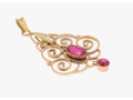 Zlato z bazaru, z výkupu - zlaté šperky, přívěsky, brože z různých druhů zlata