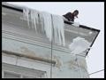 Odklízení sněhu, ledu, rampouchů ze střech, výškové práce Opava