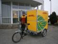 Úspora emisí CO2 při využití elektrokola k rozvozu zásilek – plnění cílů ISO 50001