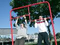 V�stavba, projekce, rekonstrukce sportovn�ch are�l�, park�.