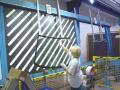 Stroje pro opracování plochého skla