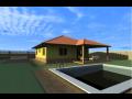 Rodinn� domy na kl��, bungalovy Uhersk� Hradi�t�
