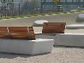Concrete Sportanlagen + Nusser městský mobiliář – lavičky a sezení pro všechny generace