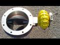 Dopravní a manipulační zařízení - Motýlová klapka VMK
