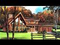 Kanadské nízkoenergetické dřevostavby, rodinné domy, dřevěné chaty