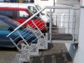 Kovové zábradlí na zakázku - zámečnictví Olomouc