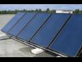 Solární kolektory, solární systémy a solární absorbéry.