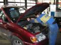 Běžný servis dle dohody na počkání - výměna oleje, pneumatik, brzdových destiček atd.