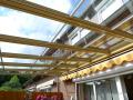 zastřešení teras, prosklené terasové přístřešky