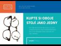 Multifokální brýlová skla - způsob jak vyběhnout s presbyopií, výhodná akce