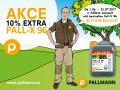 PALL-X 96 - 10% porce laku navíc -  nejprodávanější parketový lak - AKCE od 1. 6. do 31. 7. 2017