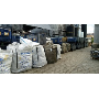 Průmyslový sběrný dvůr pro odkládání odpadu plastového, papírového, kovového, směsného