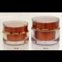 Výroba plastových dóz s víčky pro kosmetické přípravky