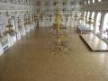 Zámecké mozaikové parkety dodávají místnosti elegantní a příjemný vzhled