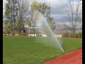 Závlahové systémy a postřikovače pro zemědělce, fotbalová hřiště, zahrádkáře