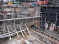 Sanace rekonstrukce betonové konstrukce vodohospodářské stavby