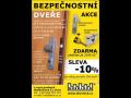 Nová prodejna Brno - bezpečnostní protipožární dveře SHERLOCK