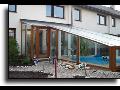 Zasklení balkónů bazénů hal schodišť zimní zahrady Náchod Jaroměř
