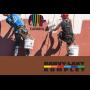 Akrylátové, silikonové fasádní barvy i probarevné omítkoviny - dokonalé nátěry fasád díky barvě Caparol