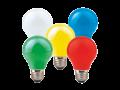 Dekorativní světelné zdroje LED COLOURMAX G45/A60 - NBB Bohemia s.r.o.