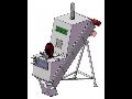 Žlabová míchačka s vertikálním šrotovníkem vyrobená firmou TAURUS