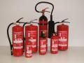 Hasící přístroje přenosné pojízdné požární vodovody Dobruška