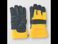 Kombinované pětiprsté rukavice