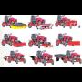 Multifunkční zahradní traktor Panter FD-5 pro vinaře, zahrádkáře, komunální sféru