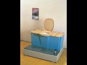 Vnitřní toalety Eko wc typ 07 a 08