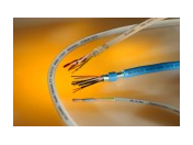 Průmyslové kabely a vodiče, kabely pro motory, servopohony, datové, flexibilní, výroba