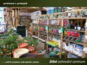 Výhodný velkoobchodní prodej školkařských výpěstků a zahradnických potřeb