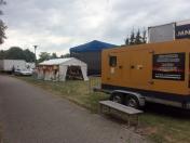 Dlouhodobý pronájem a půjčování elektrocentrál při výpadku proudu nebo na koncerty