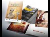 Tisk, vazba, laminování brožur, příruček, návodů i zpravodajů včetně grafického zpracování