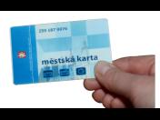 Městská elektronická karta, bezkontaktní čipová karta k úhradě jízdného