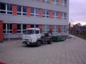 Autodoprava - přeprava stavebního materiálu, odpadu a suti