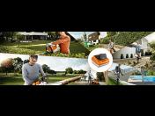 Akumulátorová zahradní technika má výhody - akumulátorové sekačky, pily, křovinořezy, foukače