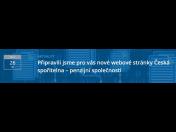 Nové www stránky Česká spořitelna - penzijní společnost, a.s. se snadným ovládáním
