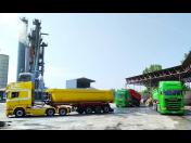 Výroba jemnozrnného, střednězrnného i hrubozrnného asfaltového betonu