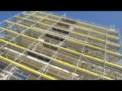 Jednoduché ocelové fasádní rámové lešení SPRINT - pronájem, prodej i montáž