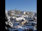 Obec Dolní Žandov, okres Cheb, PR Lipovka, Mechové údolí, CHKO Slavkovský les
