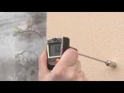 Diagnostika stavebních konstrukcí - měření vzduchotěsnosti budov pomocí termokamery
