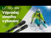 Výprodej zimního vybavení, lyžařského vybavení, lyže, brusle, přilby, eshop