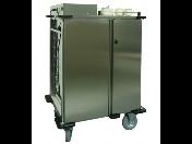 Gastro zařízení z nerezu pro přepravu a vydávání teplých jídel