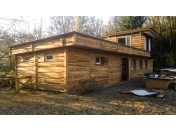 Dlažby, obklady ze dřeva -  dřevěné fasády, obložení stěn, stropů