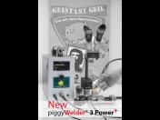 Nový piggyWelder 3+ novinka – vylepšená a výkonnější svářečka pro pevný návar