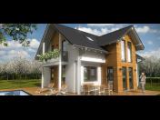 Výroba, dodávka a montáž moderních i klasických montovaných rodinných domů Příbram