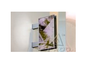 Výstrče - informační panel pro oboustranné umístění reklamy, názvu firmy - výroba Praha