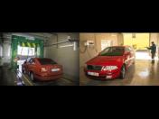 Mycí linka pro osobní a užitková vozidla s vysokotlakým předmytím