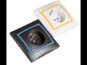Elektroinstalační materiál MOWION – zásuvky, rámečky, schodišťové vypínače – e-shop