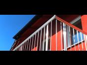 Modulární hliníková zábradlí pro balkony, terasy i schodiště